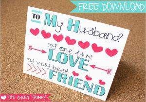 Printable Birthday Cards For Husband Free Valentine 39 S Day