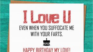 Printable Birthday Cards for Husband Instant Download Funny Birthday Card Boyfriend Husband