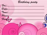 Printable Birthday Invitation Cards Printable Birthday Cards Printable Invitation Cards