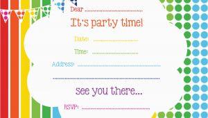 Printable Birthday Invitations Online Free Printable Birthday Invitations Online Bagvania Free