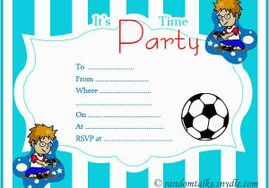 Printable Birthday Party Invitations For 12 Year Old Boy Free Random Talks