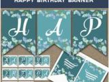 Printable Happy 70th Birthday Banner Popular Items for 80th Party Banner On Etsy