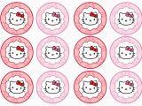 Printable Happy Birthday Banner Hello Kitty Diy Free Hello Kitty Cupcake toppers Free Birthday Party