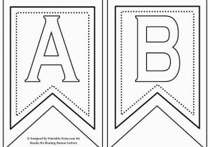 Printable Happy Birthday Banner Letters Black and White Free Printable Banner Letters A Z 0 9 Th St Rd Nd