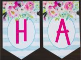 Printable Happy Birthday Banner Maker Free Printable Birthday Banner Six Clever Sisters