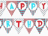 Printable Happy Birthday Banner Maker Happy Birthday Banner Template Printable Vastuuonminun