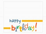 Printable Happy Birthday Cards Happy Birthday Card Free Printable How Do the Jones Do It
