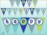 Printable Happy Birthday Letter Banners Free Printable Happy Birthday Banner Boy Birthday Home