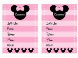 Printable Minnie Mouse Birthday Card Free Pink Minnie Mouse Birthday Party Printables Catch