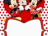 Printable Minnie Mouse Birthday Card Mickey and Minnie Invitation Template orderecigsjuice Info