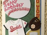 Printable Sports Birthday Cards Happy Birthday to You Card Baseball Player by