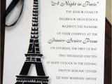 Prom themed Birthday Invitations Best 25 Paris Prom theme Ideas On Pinterest