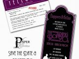 Prom themed Birthday Invitations Paper Perfection 1920 39 S Prom Invitation and Party Printables