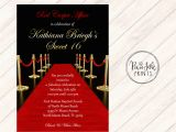 Prom themed Birthday Invitations Prom Party Invitations Invitation Librarry