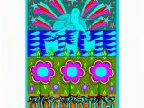 Psychedelic Birthday Card Aquarius Psychedelic Greeting Card Card Zazzle