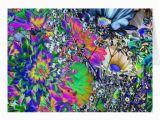 Psychedelic Birthday Card Psychedelic Birthday Colourful Flowers Zazzle