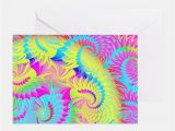 Psychedelic Birthday Card Psychedelic Stationery Cards Invitations Greeting