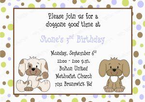 Puppy Birthday Invites 10 Puppy Birthday Invitations with Envelopes Free Return