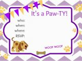 Puppy Birthday Invites Puppy Party Ideas About A Mom