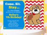 Puppy Birthday Invites Puppy Party Invitation Puppy Birthday Invitation Printable