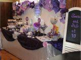 Purple 40th Birthday Decorations Glam Purple Birthday Quot Amanda 39 S 40th Birthday Surprise