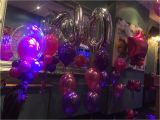 Purple 40th Birthday Decorations Pink and Purple 40th Birthday Party Bubbles Numbers