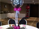 Purple 40th Birthday Decorations Purple and Silver Party Decorations Centre Pieces with
