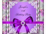 Purple and Silver Birthday Decorations Elegant Silver Purple Mauve Jewel Birthday Party