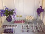 Purple and Silver Birthday Decorations Purple and Silver themed Party Purim 2013 Overtime Cook