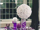 Purple and White Birthday Decorations 37 Trendy Purple Wedding Table Decorations Table