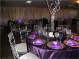Purple and White Birthday Decorations A Lovely Purple and Silver 50th Birthday Party Yelp