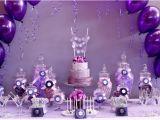 Purple and White Birthday Decorations Pretty Floral Birthday Decorations Kitchen Layout and
