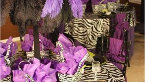 Purple Zebra Birthday Decorations 25 Best Ideas About Zebra Bridal Showers On Pinterest