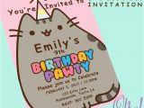 Pusheen Birthday Invitations 25 Best Ideas About Pusheen Birthday On Pinterest