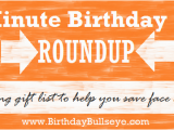 Quick Birthday Gifts for Husband Last Minute Birthday Gifts Roundup Of Quick and Easy Ideas