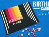 Quick Birthday Invitations Birthday Card Quick Easy Diy Tutorial by Paper Folds