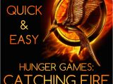 Quick Birthday Invitations Quick Easy Hunger Games Catching Fire Birthday Party