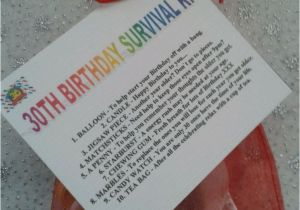 Quirky Birthday Gifts For Him 30th Survival Kit Fun Unusual Novelty Present