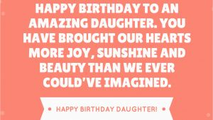Quotes About Happy Birthday to My Daughter 35 Beautiful Ways to Say Happy Birthday Daughter Unique