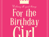 Quotes for A Birthday Girl Female Product Categories Cards Galore