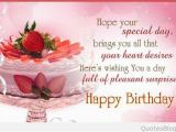 Quotes On Wishing Happy Birthday Happy Birthday Quotes and Messages for Special People