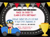 Race Car Birthday Invitations with Photo 40th Birthday Ideas Free Race Car Birthday Invitation