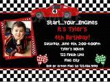 Race Car themed Birthday Invitations 40th Birthday Ideas Free Race Car Birthday Invitation