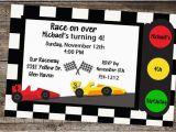 Race Car themed Birthday Invitations Race Car Birthday Party Invitations Dolanpedia
