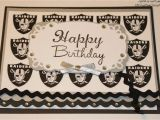 Raiders Birthday Card Crafty Girl 21 Raiders Birthday Card