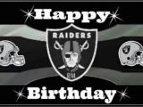 Raiders Birthday Card Happy Birthday From the Raider Nation Raiders Bitches
