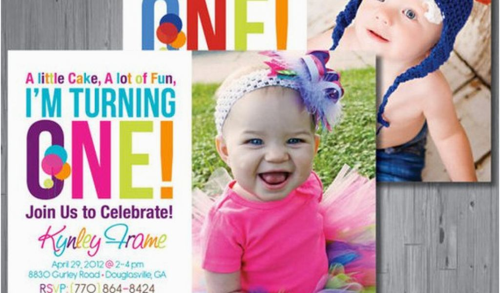 Download By SizeHandphone Tablet Desktop Original Size Back To Rainbow 1st Birthday Invitations