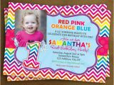 Rainbow First Birthday Invitations Rainbow 1st Birthday Invitation Photo Invitation Rainbow