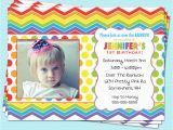 Rainbow First Birthday Invitations Rainbow Birthday Invitations Ideas Bagvania Free