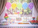 Rainbow themed Birthday Party Decorations Mila 39 S Rainbow Party Project Nursery